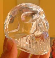 Quartz Crystal Skull AA Grade (10056)
