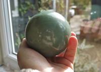 Green Adventurine sphere (1393849970)