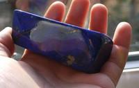 Lapis Lazuli hand polished piece (1320155863)