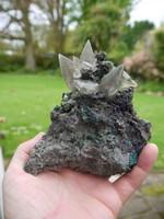 Chalcopyrite with Stellar Beam calcite (1337075232)