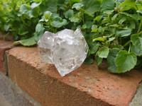 Twinned Herkimer diamond (1427895348)