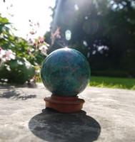 Chrysocolla sphere (1400588606)