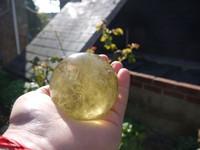 Lemon quartz sphere (1428937098)