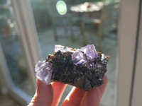 Fluorite on Sphalerite (1384864311)