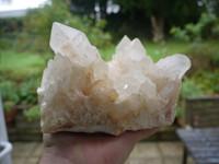 Clear quartz cluster (111250)
