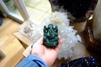 Green Adventurine Ganesh statue (111497)
