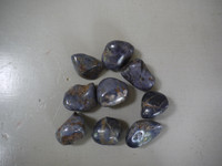 Sapphire hand polished pieces (111697)