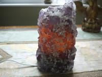 Amethyst crystal lamp (111835)