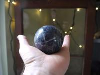 Iolite sphere (112140)