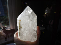 Clear quartz point (112603)