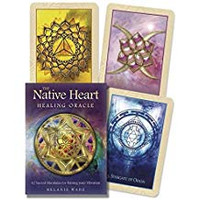 Native Heart healing oracle cards (114049)