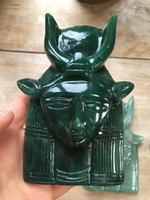 Jade Hathor carving (114145)