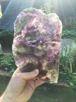 Fluorite slice (114203)