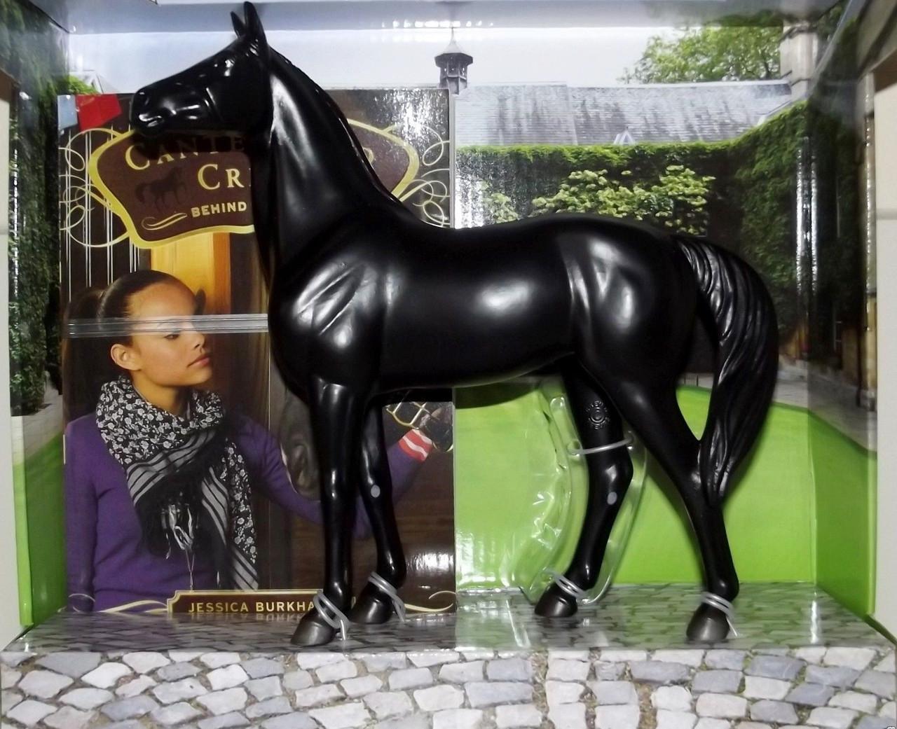 Breyer Horses Canterwood Crest Behind The Bit Black Jack