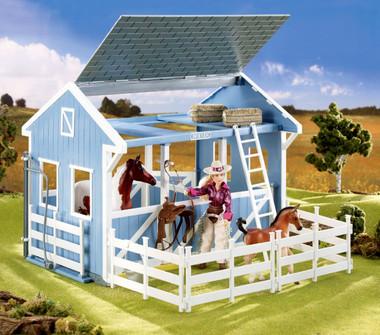 unique breyer horse next worthopedia barn custom barns wooden stable
