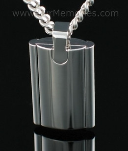 Stainless Steel Flask Urn Keepsake