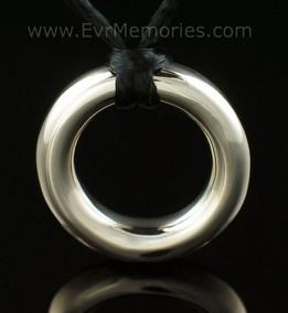 14K Gold Eternity Funeral Jewelry