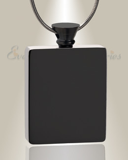 Black Glorious Moments Urn Pendant