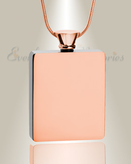 Rose Gold Glorious Moments Urn Pendant