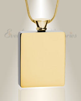 Gold Plated Glorious Moments Urn Pendant