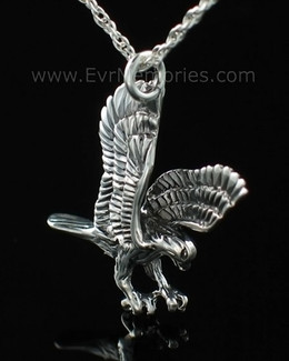 Sterling Silver Eagle Urn Keepsake