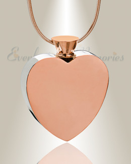 Rose Gold Everlasting Journey Urn Pendant