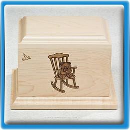 Rocking Chair Infant Urn