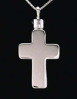 Large Cross Cremation Funeral Jewelry
