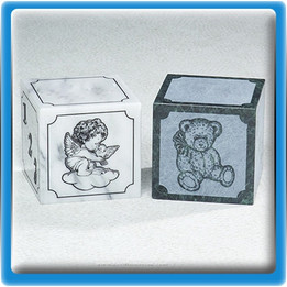 Angel Teddy Bear Marble Infant Urn