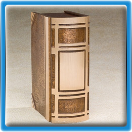 Bronze Book Cremation Urn