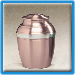 Mauve Tranquil Pewter Urn