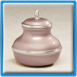 Mauve Worship Cremation Urn