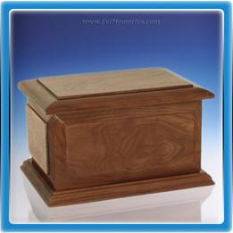 Walnut Bostonian Wood Cremation Urn