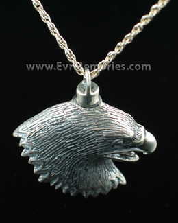 Eagle Cremation Urn Necklace