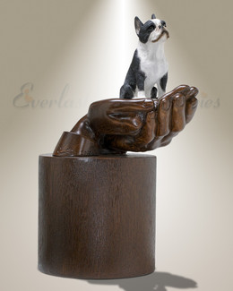 Companions Boston Terrier Pet Urn