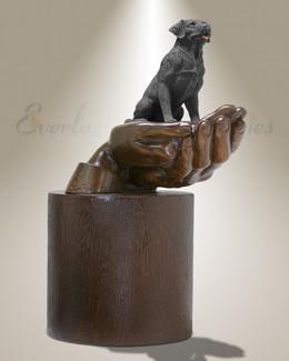 Companions Black Labrador Pet Urn