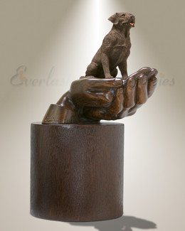 Companions Chocolate Labrador Pet Urn