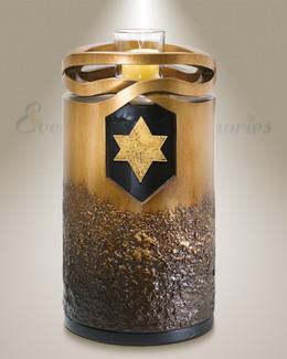 Infinity Bronze-Jewish Star
