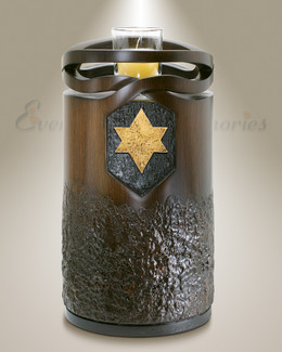 Infinity Wood-Jewish Star