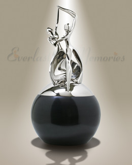 Dance of Life Companion-Silver and Black