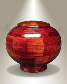 Large Mercy Urn in Padauk