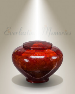 Small Mercy Urn in Padauk
