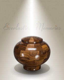 Wisdom Urn in Black Walnut-Keepsake