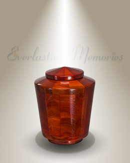 Joy Urn in Padauk-Keepsake