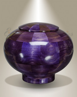 Large Peony Urn in Purple