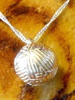 Yarn Ball Urn Necklace