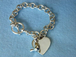 Silver Cat Charm Bracelet Cremation Urn Keepsake