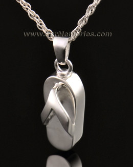 14k White Gold Beach Funeral Jewelry