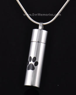 Stainless Steel With Me Pet Keepsake Pendant