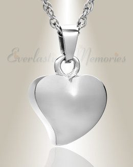Sterling Silver Dear Heart Ash Jewelry